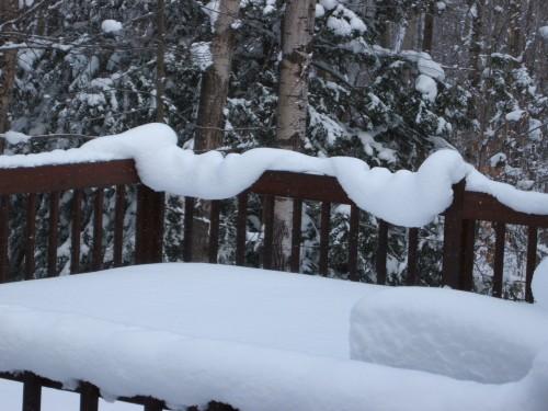 Snakey snow