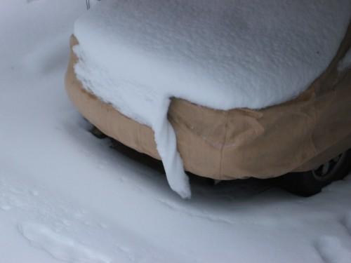 Fabric snow
